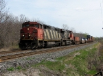 CN 2410 with 149 at Mile 260 Kingston Sub.